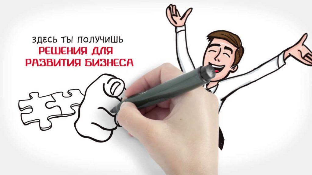 Преимущества использование для продвижение doodle-video