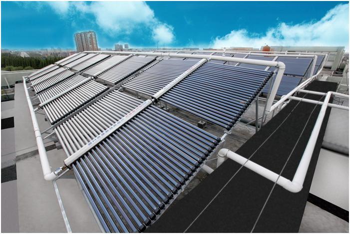 Солнечные коллекторы как альтернативные источники отопления