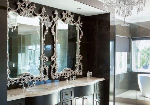 Зеркало в ванной комнате: стоили или не стоит применять