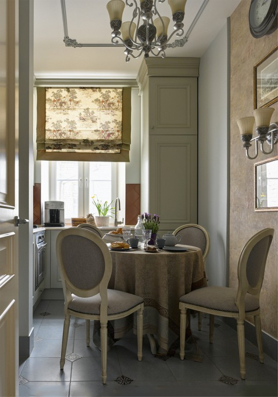 Дизайн кухни с окном – мойка у окна