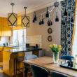 дизайн кухни с двумя окнами – как использовать пространство и что разместить возле окон