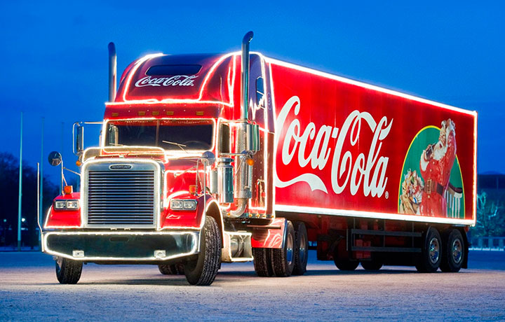 Coca Cola - бренд-праздник