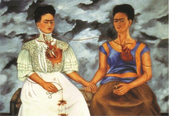 картина «Две Фриды» Кало