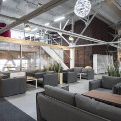 Дизайн в стиле лофт - в офисе и коворкинге