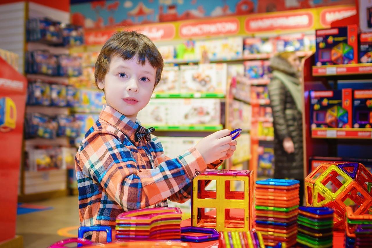 Развивающий конструктор для детей в подарок