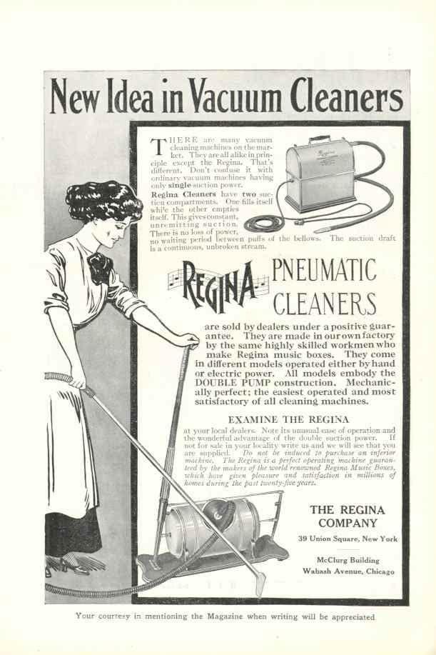 А как раньше рекламировали пылесосы