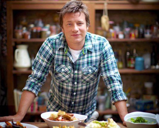 съёмки кулинарного шоу со знаменитым британским шеф-поваром Джейми Оливером