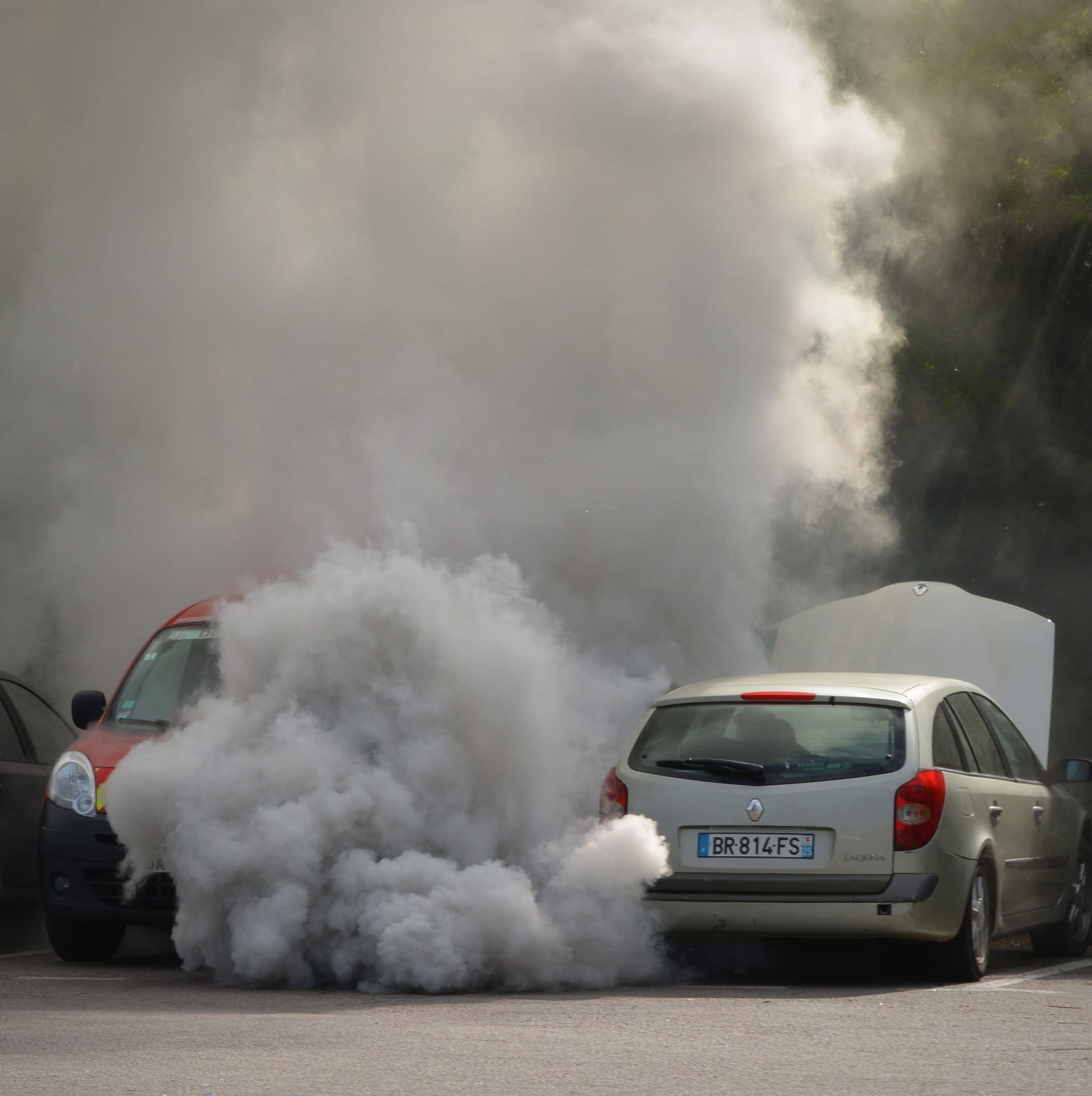 Загрязнение воздуха путем