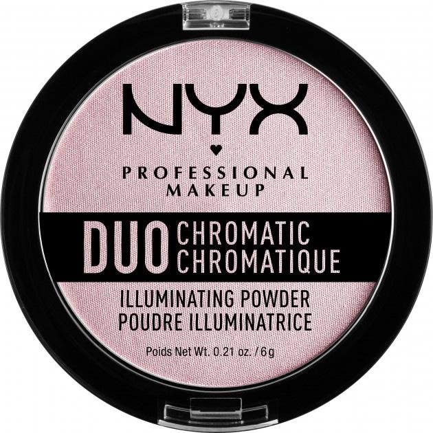 Хайлайтер NYX Professional Makeup Duo Chromatic Illuminating Powder 02 Lavender