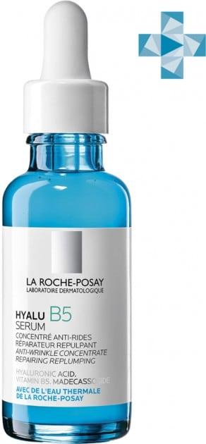 Дерматологическая сыворотка La Roche Posay Гиалу Б5 для коррекции морщин и восстановления упругости чувствительной кожи 30 мл