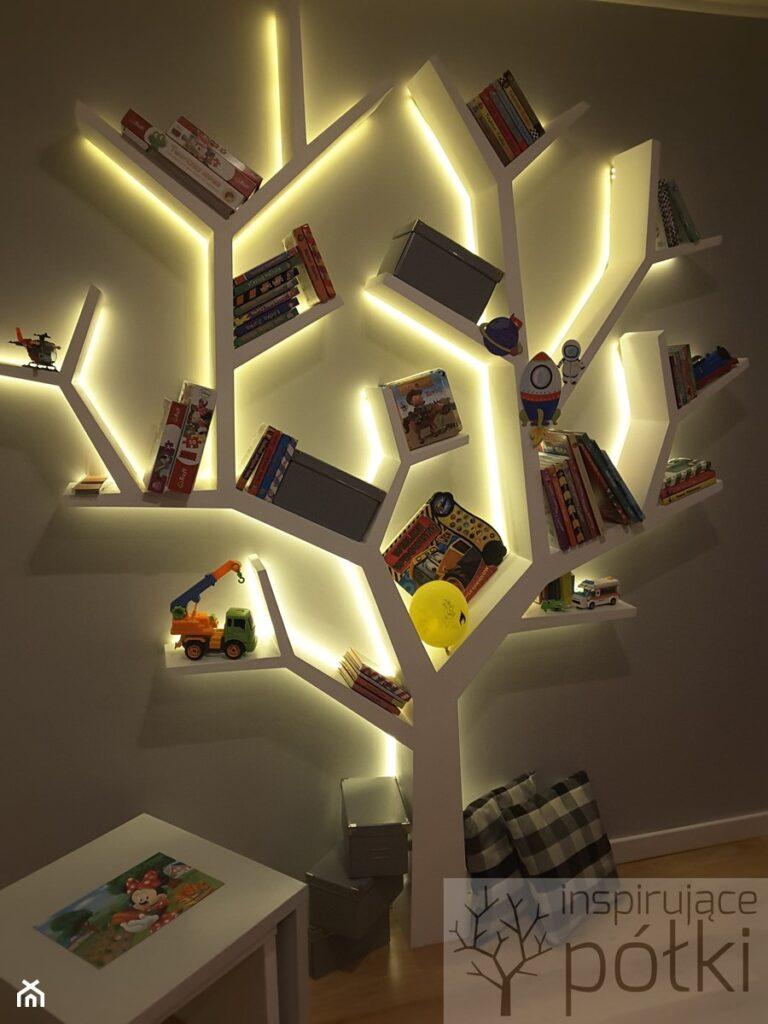 Оригинальные идеи книжных полок