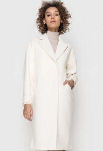 Белое пальто 2020-2021