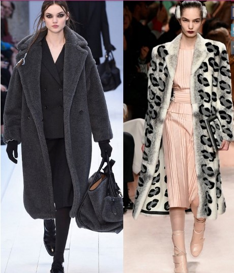 Пальто Max Mara, Fendi