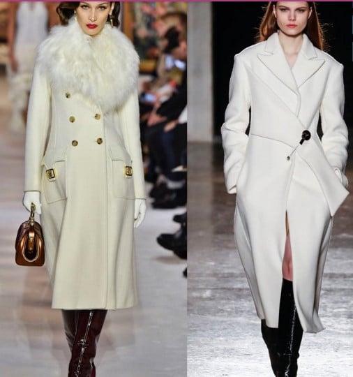 Пальто белое Lanvin, Genny
