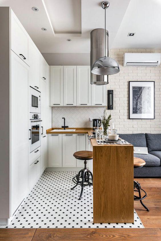 Планировка в однокомнатной квартире