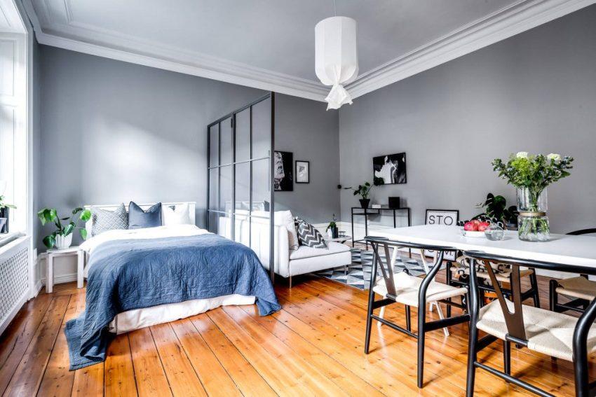 Как обустроить1-комнатную квартиру так, чтобы там поместилось всё, что нужно?