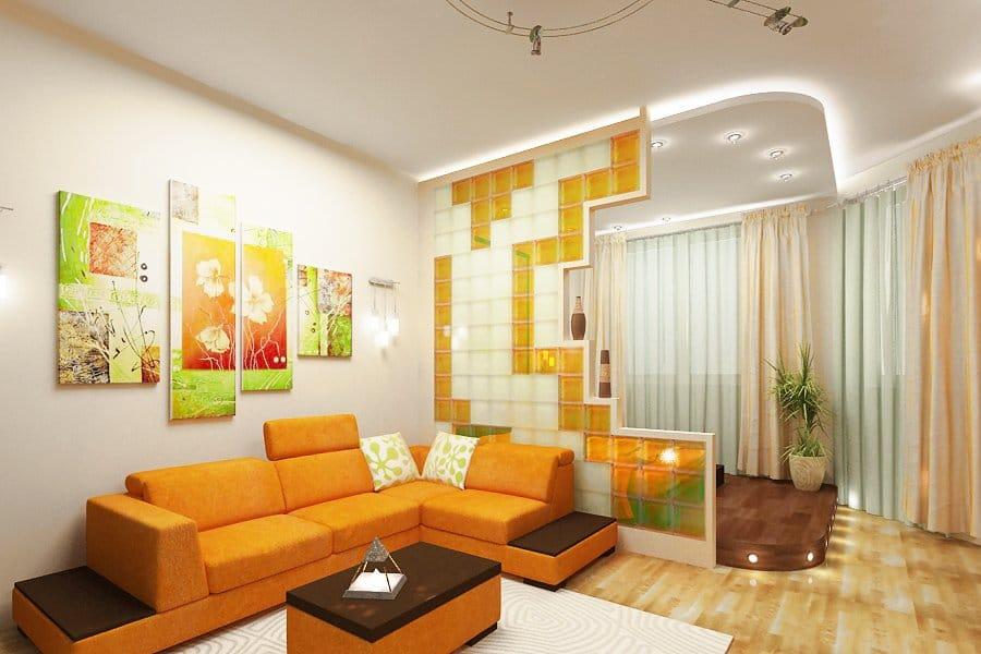 Как с помощью зонирования пространства обустроить однокомнатную квартиру