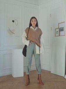 Белая рубашка - аутфит в стиле минимализм