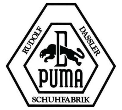 Самый первый логотип Puma