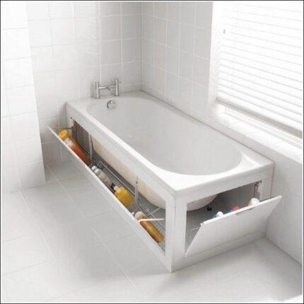 Где хранить вещи в ванной?