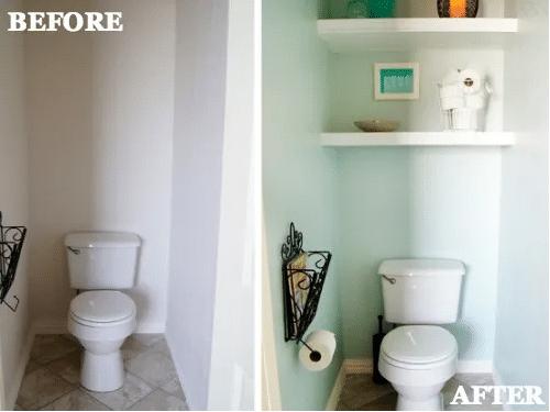 Где хранить вещи в ванной комнате