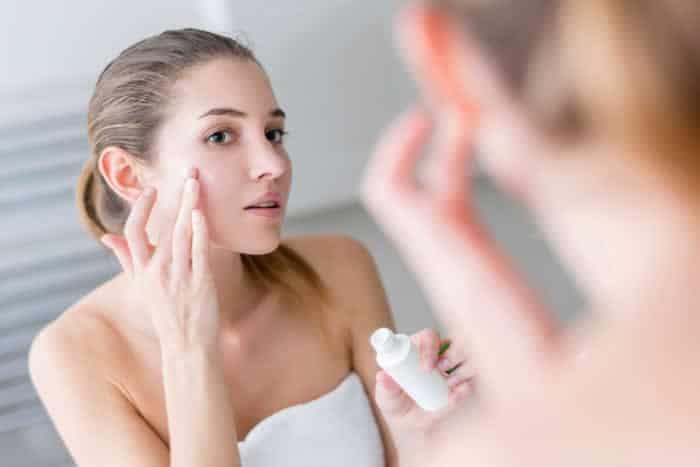 Увлажнение кожи на лице