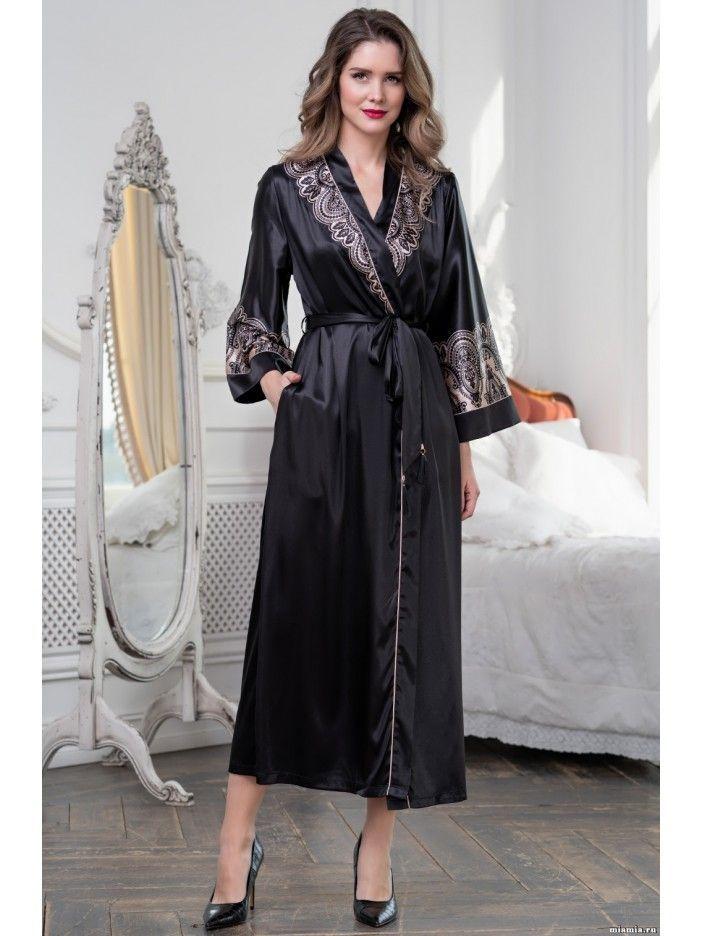 Длинные домашний халаты: как выбрать
