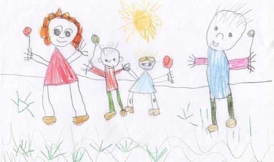 Распознать ребенка по его рисунку